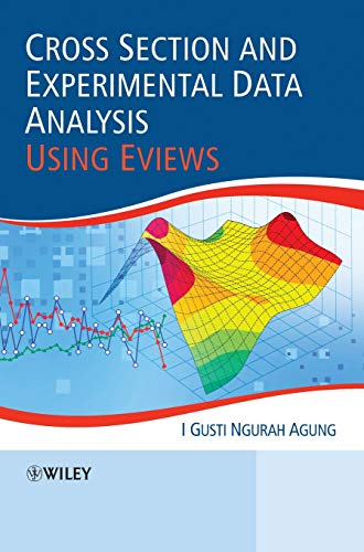 9780470828427: Cross Section and Experimental Data Analysis Using EViews