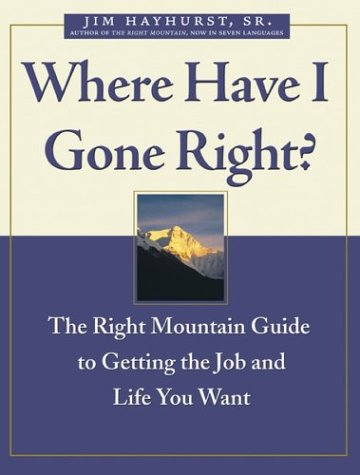 9780470833544: Where Have I Gone Right?: The Right Mountain Guide to Getting the Job and Life You Want