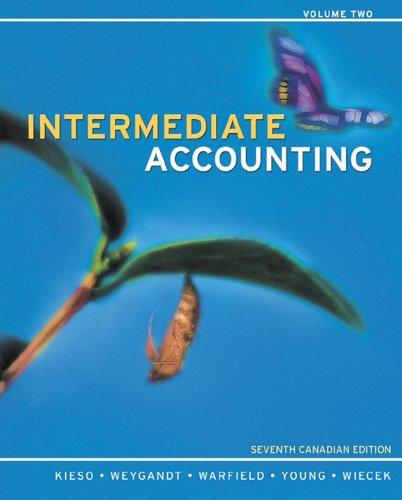 Intermediate Accounting: Jerry J. Weygandt;