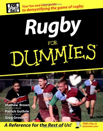 9780470834053: Rugby For Dummies