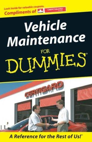 9780470835067: Custom Vehicle Maintenance For Dummies