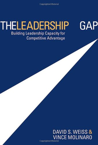 9780470835685: The Leadership Gap: Building Leadership Capacity for Competitive Advantage