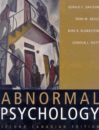 9780470835982: Abnormal Psychology, Second Canadian Edition Text and Handbook of Selected DSM-IV-TR Criteria, Set