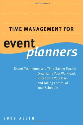 9780470836262: Time Management for Event Planners