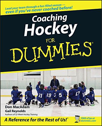 Coaching Hockey for Dummies: Reynolds, Gail