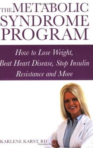 9780470838266: The Metabolic Syndrome Program: How to Lose Weight, Beat Heart Disease, Stop Insulin Resistance and More