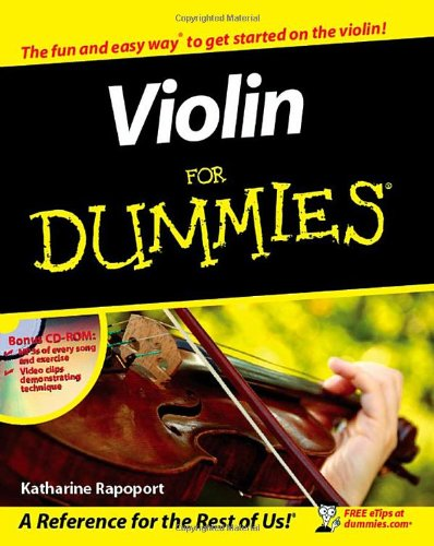 9780470838389: Violin For Dummies