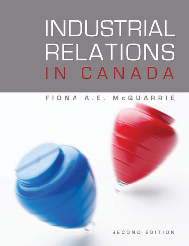 9780470838396: Industrial Relations in Canada