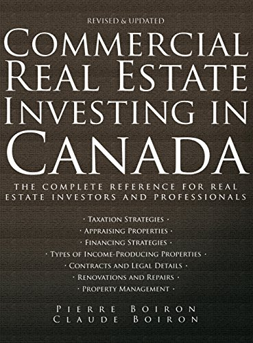 9780470838402: Commercial Real Estate Investing in Canada: The Complete Reference for Real Estate Professionals