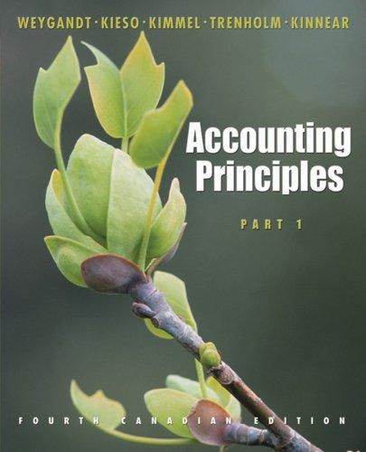 Accounting Principles, Part 1: Jerry J. Weygandt,