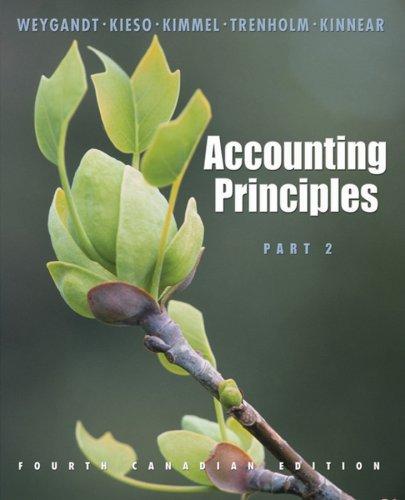 Accounting Principles: Jerry J. Weygandt,