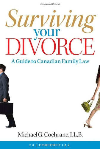 9780470839522: Surviving Your Divorce: A Guide to Canadian Family Law