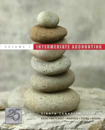 Intermediate Accounting: Donald E. Kieso,