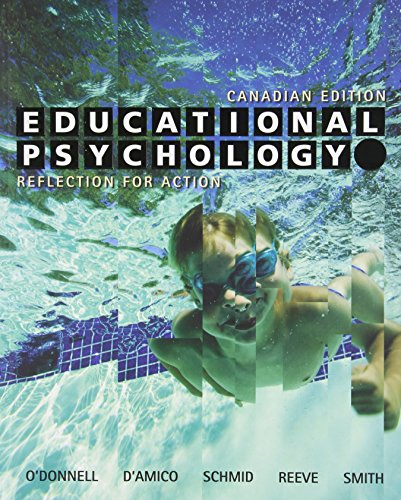 9780470840320: Educational Psychology: Reflection for Action
