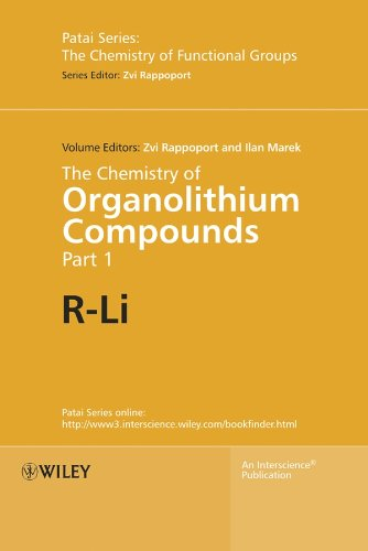 9780470843390: The Chemistry of Organolithium Compounds, 2 Volume Set (Patai's Chemistry of Functional Groups)