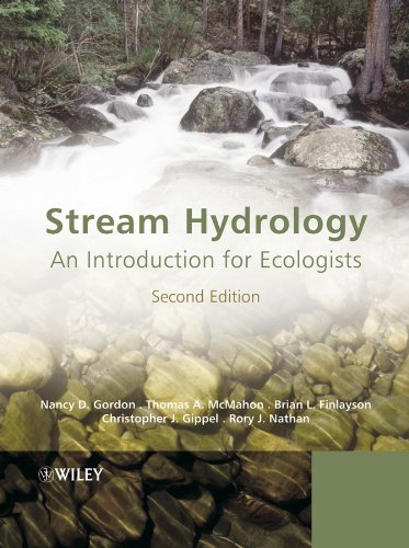 9780470843574: Stream Hydrology: An Introduction for Ecologists