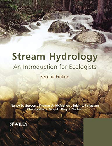 9780470843581: Stream Hydrology 2e: An Introduction for Ecologists