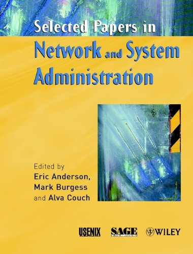 9780470843857: Selected Papers in Network and System Administration