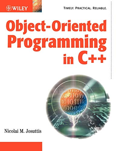 9780470843994: Object-Oriented Programming in C++