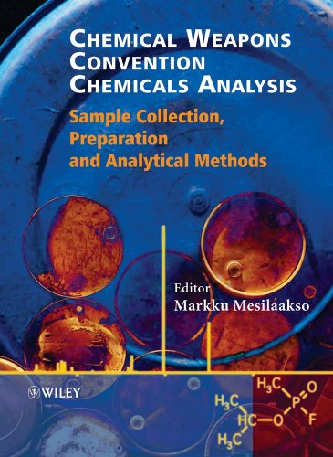 9780470847565: Chemical Weapons Convention Chemicals Analysis: Sample Collection, Preparation and Analytical Methods