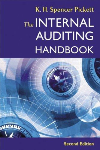 9780470848630: The Internal Auditing Handbook
