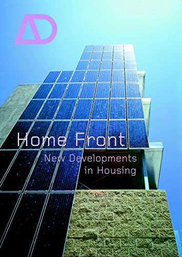 9780470848746: Home Front - New Developments in Housing