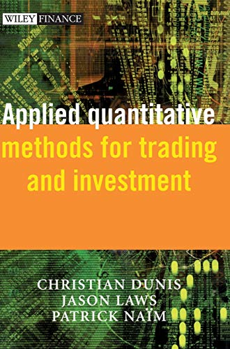9780470848852: Applied Quantitative Methods for Trading and Investment