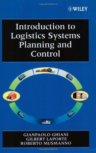 9780470849170: Introduction to Logistics Systems Planning and Control (Wiley Interscience Series in Systems and Optimization)