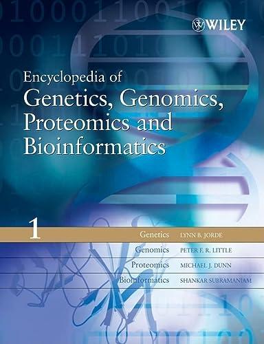 9780470849743: Encyclopedia of Genetics, Genomics, Proteomics and Bioinformatics, 8 Volume Set