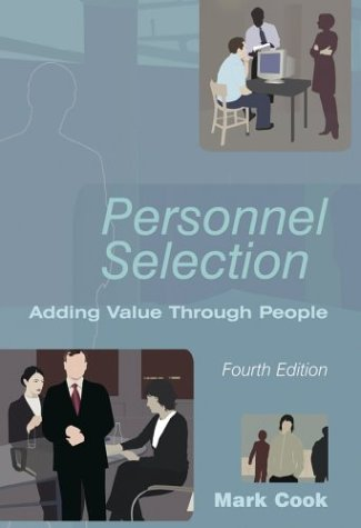 9780470850824: Personnel Selection: Adding Value through People