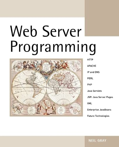 9780470850978: Web Server Programming (Computer Science)