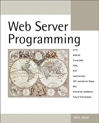9780470850978: Web Server Programming