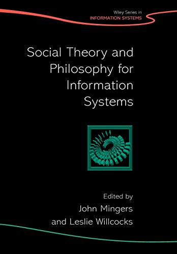 9780470851173: Social Theory and Philosophy for Information Systems