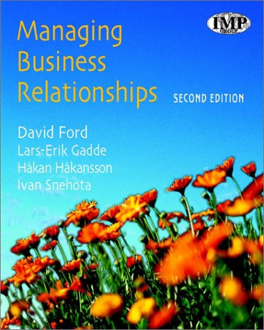 9780470851258: Managing Business Relationships