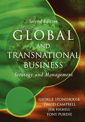 9780470851265: Global and Transnational Business: Strategy and Management
