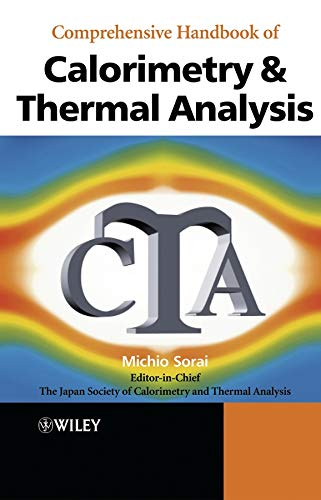 9780470851524: Comprehensive Handbook of Calorimetry and Thermal Analysis