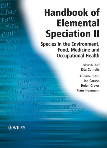 9780470855980: Handbook of Elemental Speciation II: Species in the Environment, Food, Medicine and Occupational Health