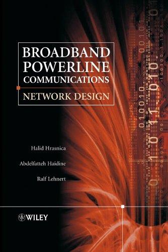 9780470857410: Broadband Powerline Communications: Network Design