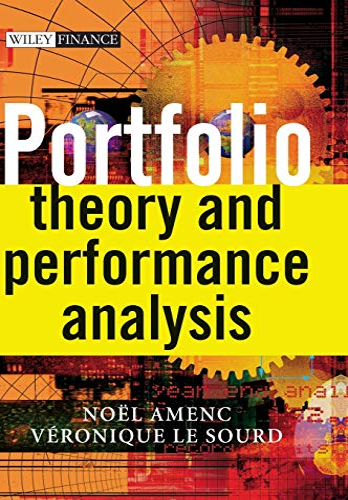 9780470858745: Portfolio Theory and Performance Analysis