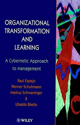 9780470860229: Organizational Transformation and Learning: A Cybernetic Approach to Management