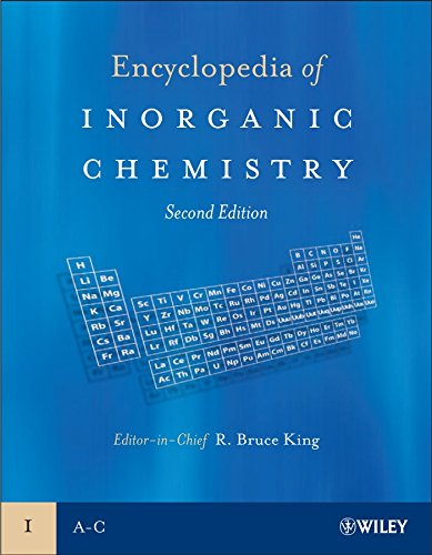 9780470860786: Encyclopedia of Inorganic Chemistry, 10 Volume Set