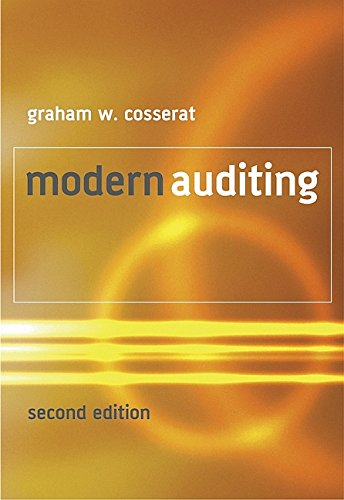 Modern Auditing 2e: Graham Cosserat