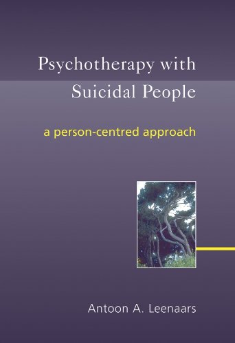 9780470863411: Psychotherapy with Suicidal People: A Person-centred Approach