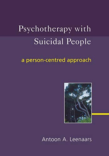 9780470863428: Psychotherapy with Suicidal People: A Person-centred Approach