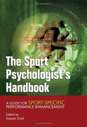 9780470863558: The Sport Psychologist's Handbook: A Guide for Sport-Specific Performance Enhancement