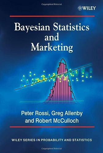 9780470863671: Bayesian Statistics and Marketing
