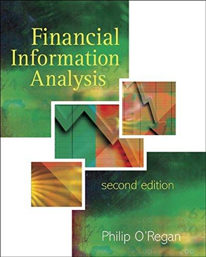 9780470865729: Financial Information Analysis