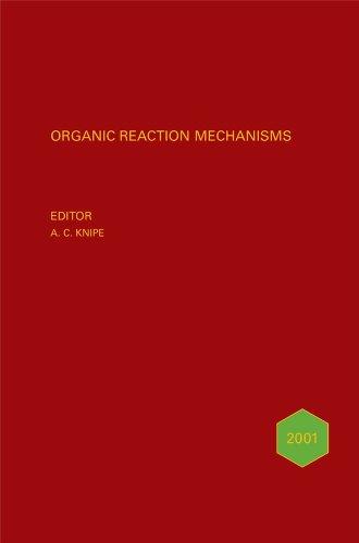 Organic Reaction Mechanisms: v. 36 (Hardback)