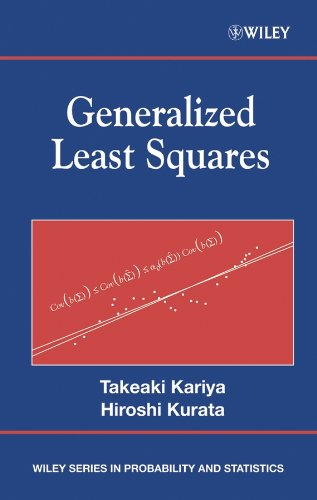 9780470866979: Generalized Least Squares (Wiley Series in Probability and Statistics)