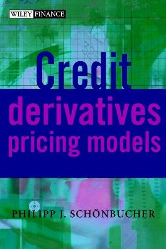 9780470868171: Credit Derivatives Pricing Models - Models, Pricing & Implementation